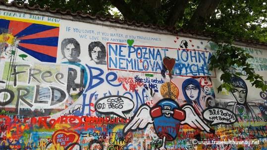 ©TravelwithWendy %22John Lennon Wall- Prague%22 www.travelwithwendy.net