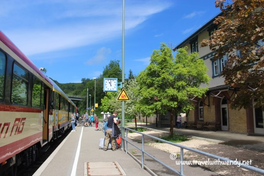 TWW - Train station (Sigmaringen)
