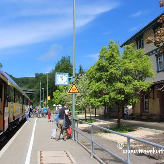TWW - Train station (Sigmaringen)