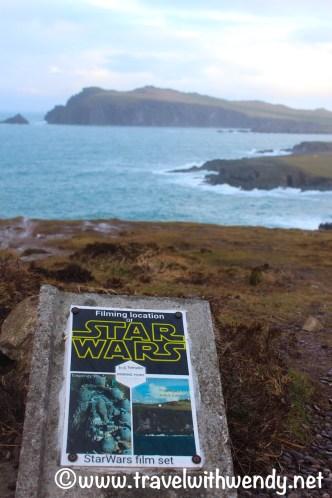 Star Wars Movie site plaque