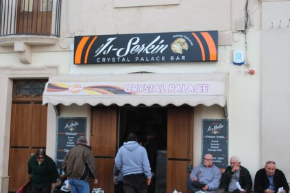 Crystal Palace Bar - best place to get Pastizzi in Malta