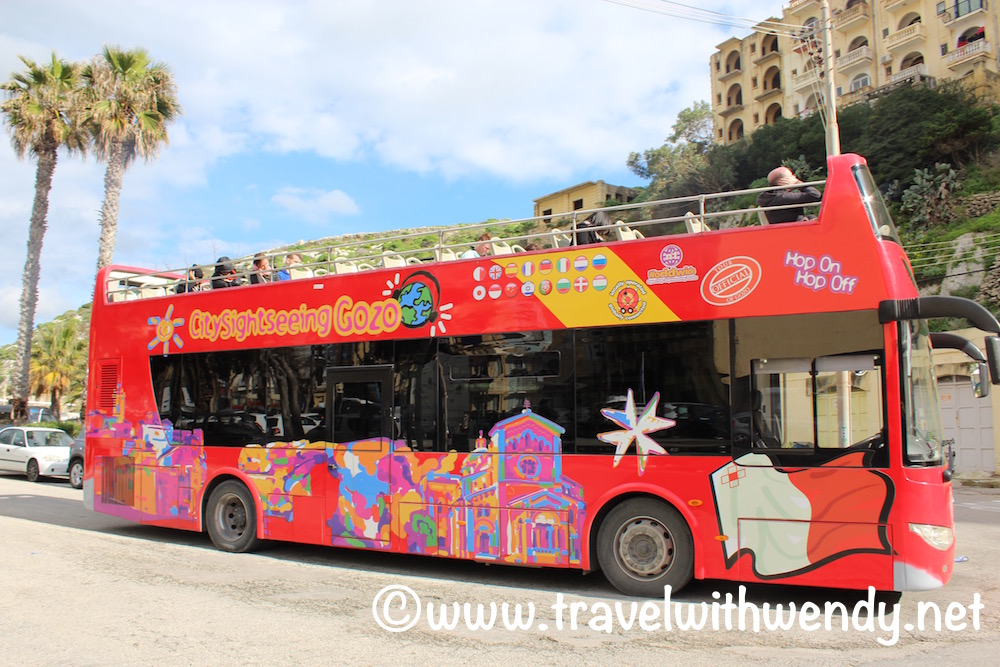 Red Bus - Gozo