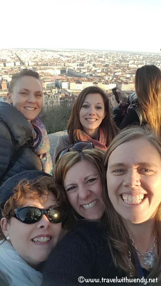 Having fun in Lyon