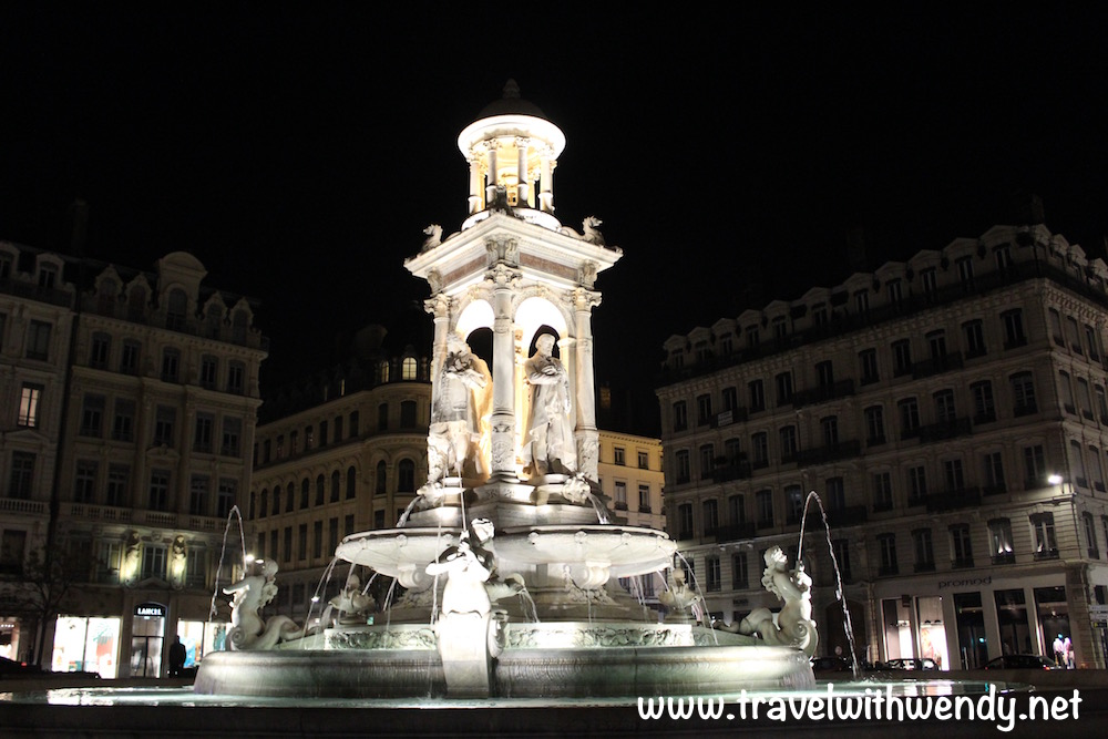 Lyon at night - Renaissance beauty