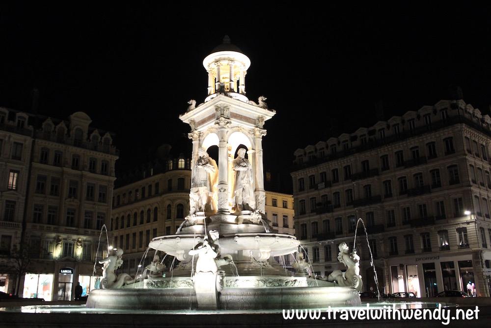 Lyon at night - Renaissance beauty