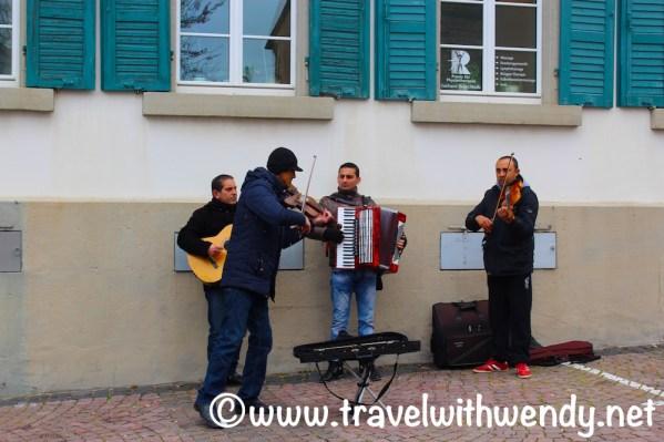 Little Italian band in Gimmeldingen