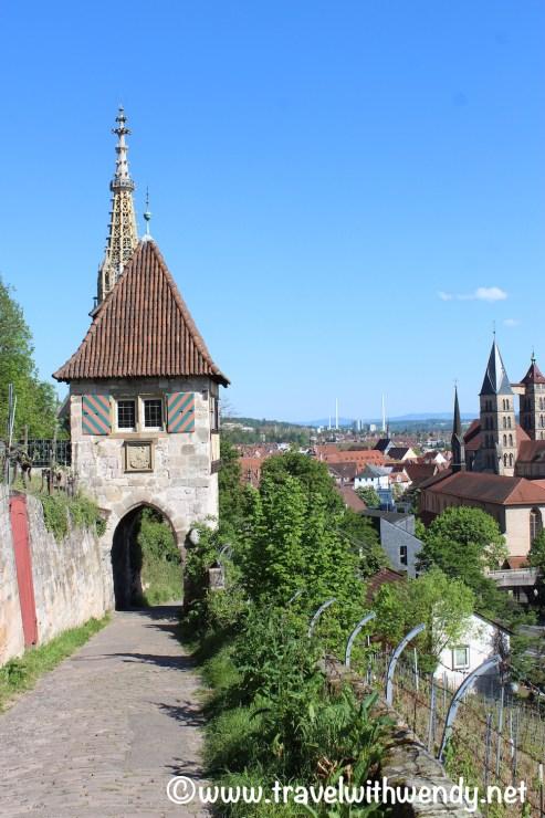 Walking in Esslingen - Wine walk