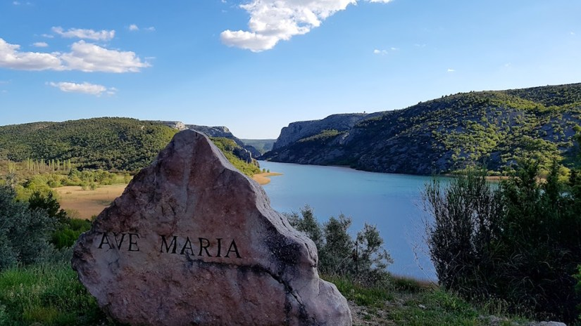 Beautiful Ave Maria view of KRKA park