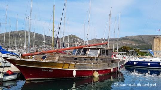Beautiful Bay in Trogir - Croatia