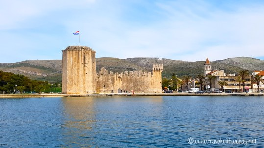 Beautiful views of Trogir