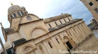 Old Square Bishops Cathedral - Šibenik