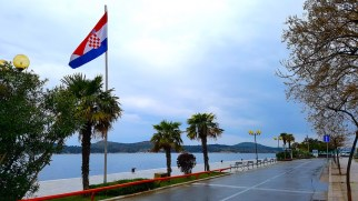 Šibenik wet streets - Croatia