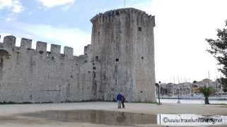 Trogir - ruins of the fortress - Croatia