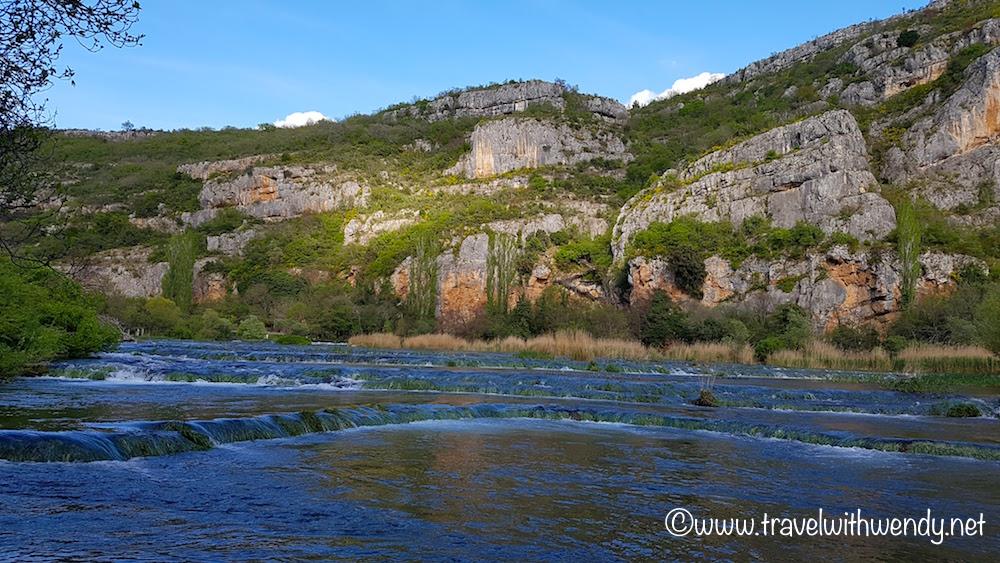 Waterfall - with Roški Slap