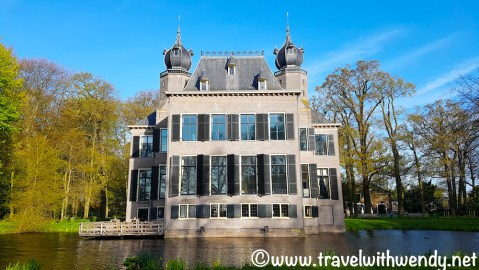 Castle Oed - Pooelgest - our digs in Leiden