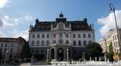 Ljubljana University Bldg
