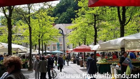 Market in Ljubljana