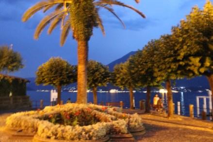 Bellagio Park at night