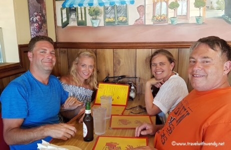 Family Fun at King's Pizza - MB