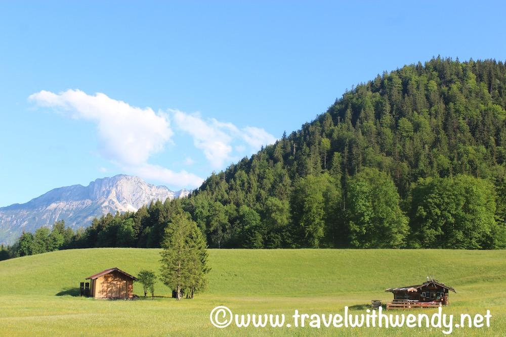 Oberau Mountain Views
