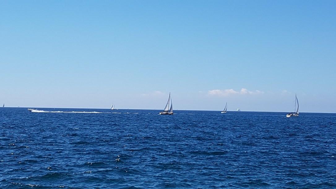 Sailboats in Piran