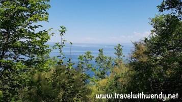 Walks along the bay in Piran