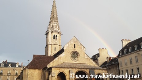 Dijon - Rain and rainbows