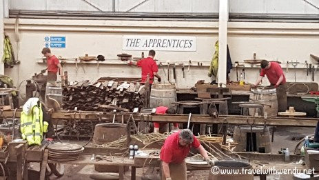 Speyside Apprentices - work for 4 years then go through an initiation process