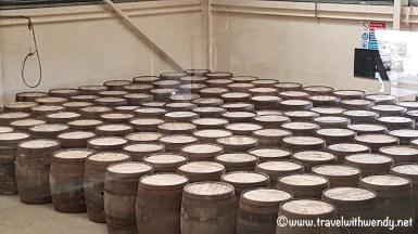 Speyside - barrels ready to go