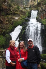 PIctures with the Triberg Waterfall