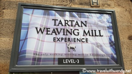 WEAVING MILL - Tartan Weaving Mill - the Royal Mile - Edinburgh