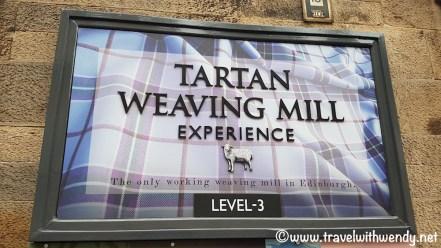 WEAVING MILL - Tartan Weaving Mill - the Royal Mile - Edinburgh