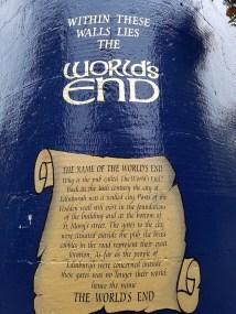 WORLD'S END - Edinburgh