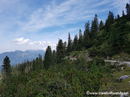 Hiking in the middle - heading to Meilerhutte
