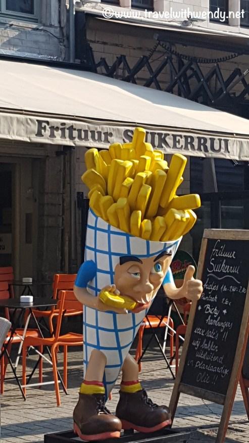 Fries everywhere!!