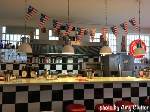 German Classic Diner - Dining Hall