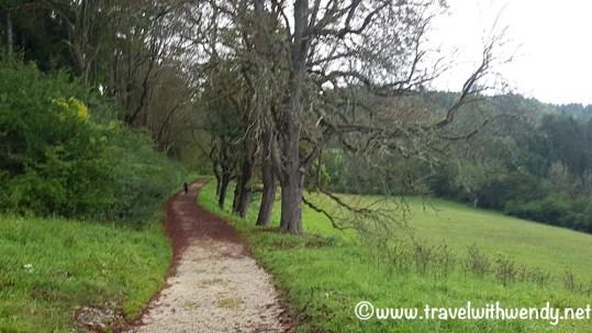 Hiking paths around Germany