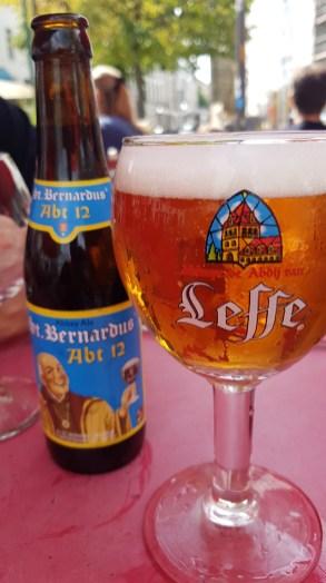 Leffe and St. Bernardus