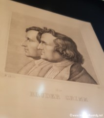 Portrait of Brothers Grimm by their own brother Ludwig