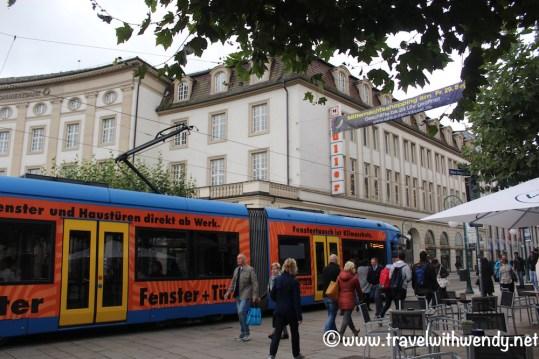 Walking the streets of Kassel