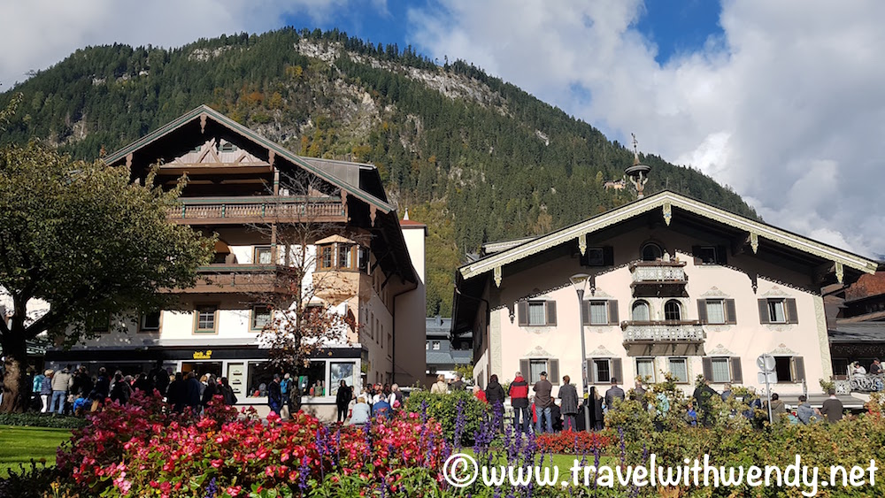 Beautiful town of Mayrhofen