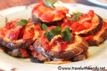 Eggplant Parmigiana - Perugia
