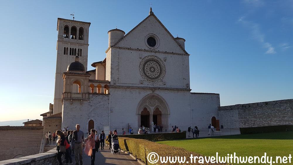 Gorgeous day at San Francesco