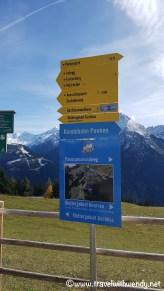 Hiking paths around Austria