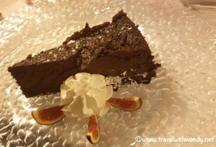 Perugian Chocolate Cheesecake