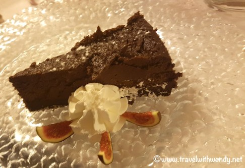 Perugian Chocolate Cheesecake