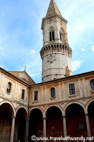 Walking around Perugia