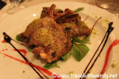Lamb chops special