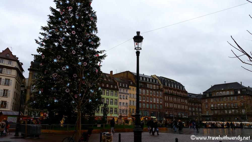 Christmas Square in Strasbourg