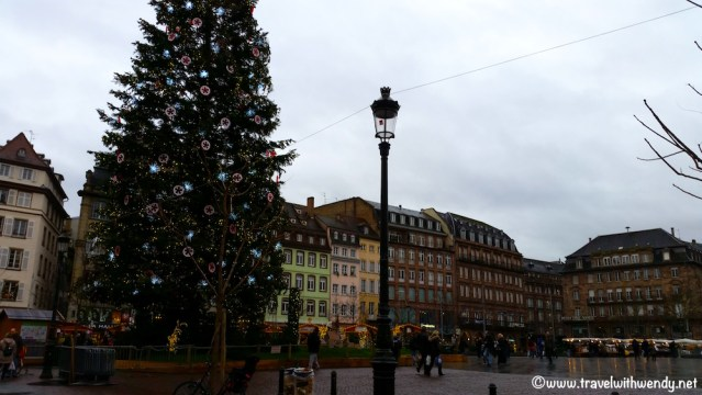 Christmas Square in Strasbourg